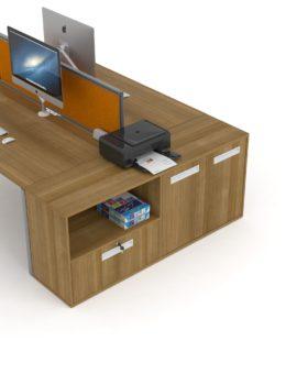 Desk End